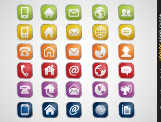 icone contatti – contact icons