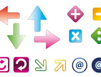 frecce bottoni – arrows buttons