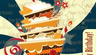 happy birthday cake – biglietto compleanno