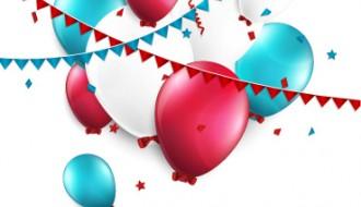Happy Birthday ballons – buon compleanno festoni palloncini