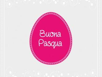 buona Pasqua uovo – happy Easter egg card