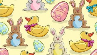 pattern Pasqua conigli uova – Easter pattern