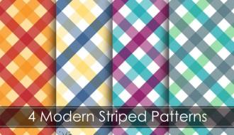 pattern a righe – modern striped pattern