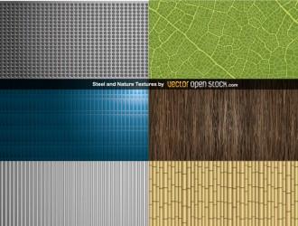 texture acciaio natura – Steel and NatureTextures