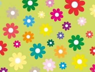 sfondo fiori colorati – colored flowers background