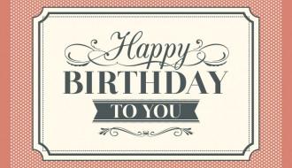 Buon Compleanno vintage – Vintage Happy Birthday Card