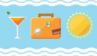 3 icone viaggi estate – travel icons
