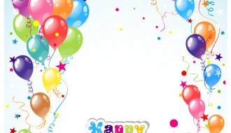 compleanno palloncini – balloon ribbon happy birthday