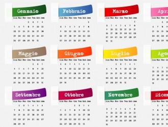 2015 calendario – calendar