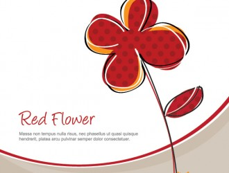 fiore rosso – red flower