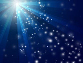 sfondo blu Natale – Blue Christmas background with snow