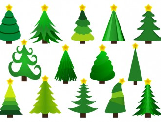 14 alberi di Natale – 14 Christmas trees