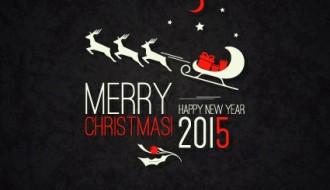 bigliettino nero Natale, 2015 – black Christmas holiday