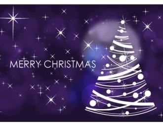 sfondo Natale con albero – Christmas background with tree