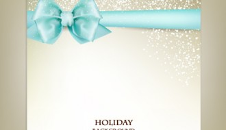 sfondo con fiocco – holiday background ribbon