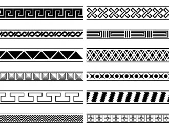 12 bordi decorativi – deco borders