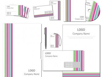 identità aziendale righe – corporate identity