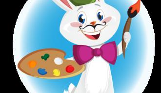 coniglio pittore – bunny artist