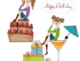 happy birthday cartoon baby – ragazzine regali torta compleanno