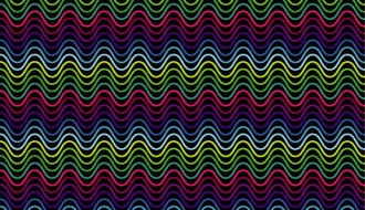 pattern onde colorato – colorful waves pattern