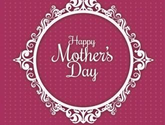 decorazione festa della mamma – mother's day circle ornament