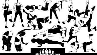 15 ragazze ginnastica – fitness girl