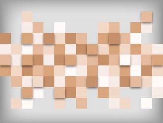 sfondo astratto blocchi – abstract blocks orange