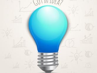 lampadina blu – light bulb