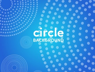 sfondo blu cerchi pois – circle blue background