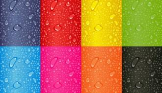 8 sfondi acqua – colorful water background