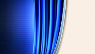 sipario blu – blue stage curtains