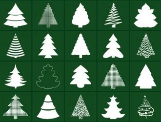 20 alberi Natale – Christmas trees