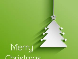 Natale albero carta – Merry Christmas paper tree