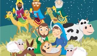 Presepe, Natività, Re Magi –  Christmas Nativity scene Birth of Jesus Christ