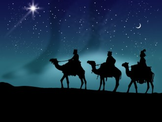 Re Magi sui cammelli – Wise men riding their camels at night