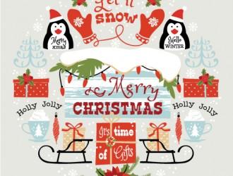 decorazioni festività Natale – Christmas holiday decorations