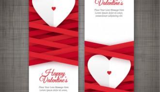 2 banner San Valentino – Valentine Day hearts