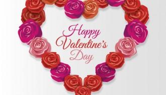cuore di rose – Happy Valentine roses heart