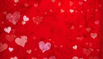 sfondo rosso San Valentino – Happy Valentine red background