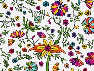 texture fiori – exotic floral texture