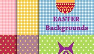 6 sfondi Pasqua – Easter background