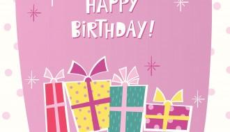 buon compleanno 4 regali – happy birthday presents