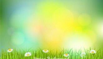 sfondo sfocato primavera – blurred spring background
