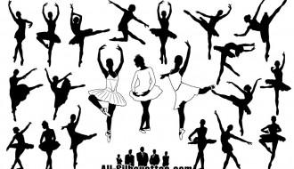 21 sagome ballerine – ballerina silhouette