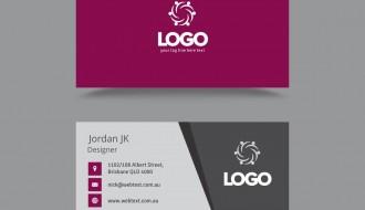 biglietto da visita – professional business card