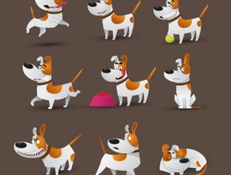 9 cani – Jack Russell dogs