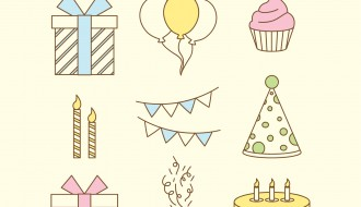 9 elementi compleanno – birthday elements
