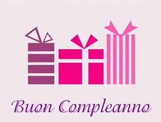 buon compleanno 3 regali – happy birthday