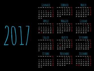 calendario 2017 – calendar