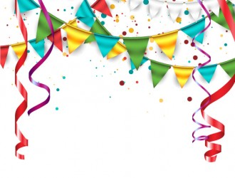 coriandoli, festoni, ghirlande – birthday decorations